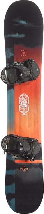 Pulse inkl. Pact Snowboard Unisex Salomon 494545515220 Farbe schwarz Länge 152 Bild-Nr. 1
