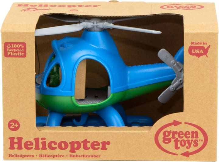 Green Toy Helicopter 743357000000 Photo no. 1