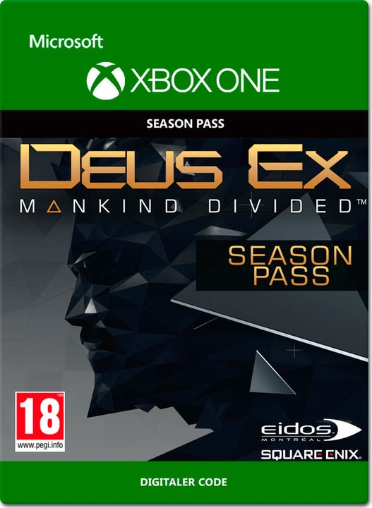 Xbox One - Deus Ex Mankind Divided - Season Pass Download (ESD) 785300138647 Photo no. 1