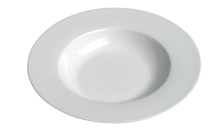 MODESTA Assiette creuse 440200900922 Couleur Blanc Dimensions H: 3.5 cm Photo no. 1