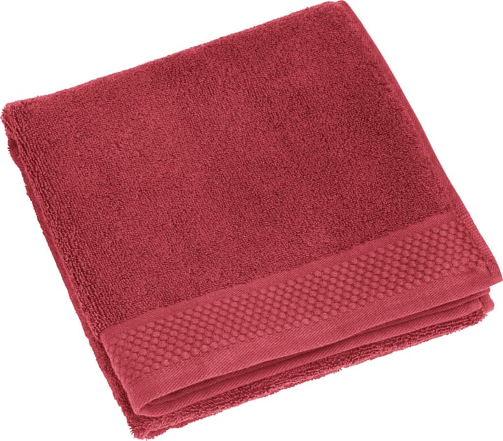 NEVA Linge de bain 450849720630 Couleur Rouge Dimensions L: 100.0 cm x H: 150.0 cm Photo no. 1
