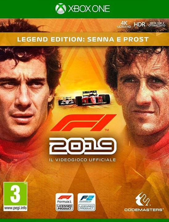Xbox One - F1 2019 Legends Edition I Box 785300144624 Photo no. 1
