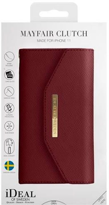 Book-Cover Mayfair Clutch burgundy Hülle iDeal of Sweden 785300148846 Bild Nr. 1