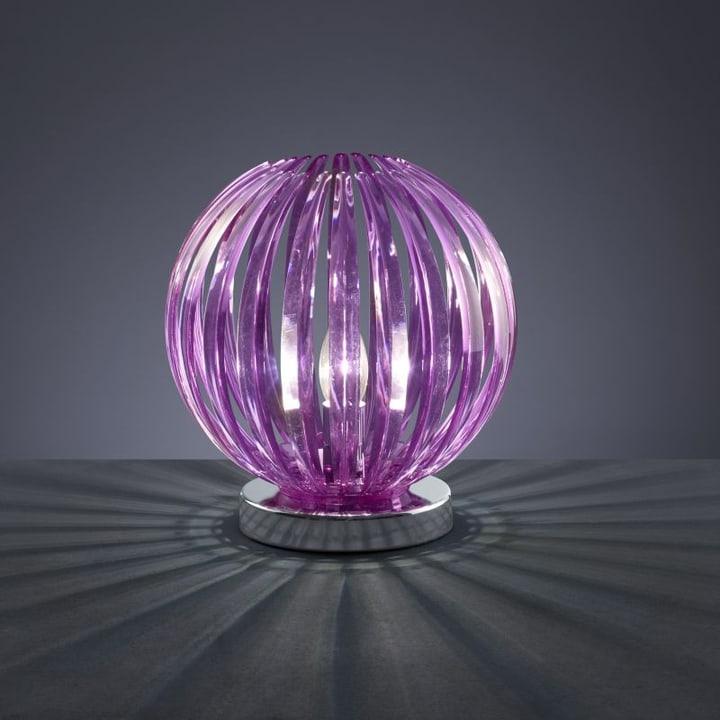 Tischleuchte Rose purpur 42120080000012 Bild Nr. 1