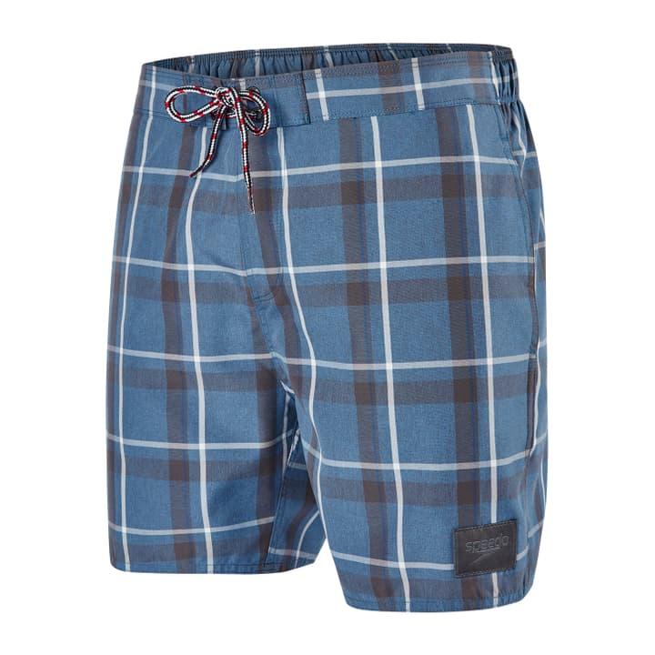 """YD Check Leisure 16"""" Watershort Short de bain pour homme Speedo 463104300483 Couleur gris foncé Taille M Photo no. 1"""