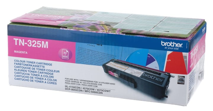 TN-325M HY magenta Toner Brother 797543800000 N. figura 1