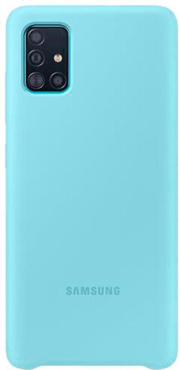 Silicone Cover blue Hülle Samsung 798653500000 Bild Nr. 1