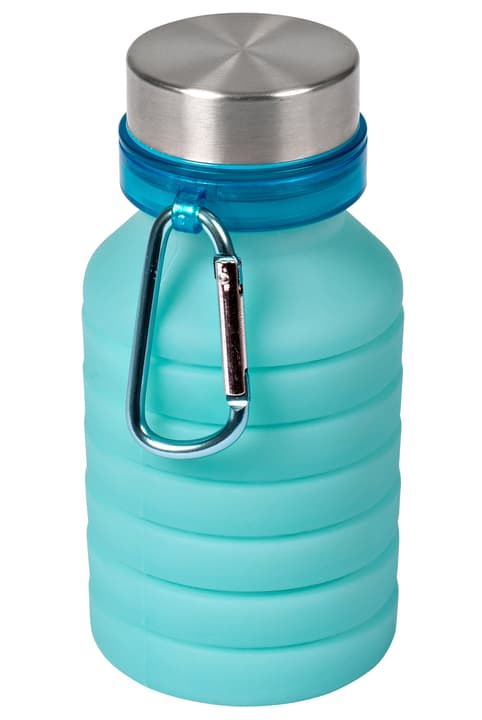 Faltbare-Trinkflasche Cucina & Tavola 703044300041 Farbe Hellblau Grösse H: 24.5 cm Bild Nr. 1
