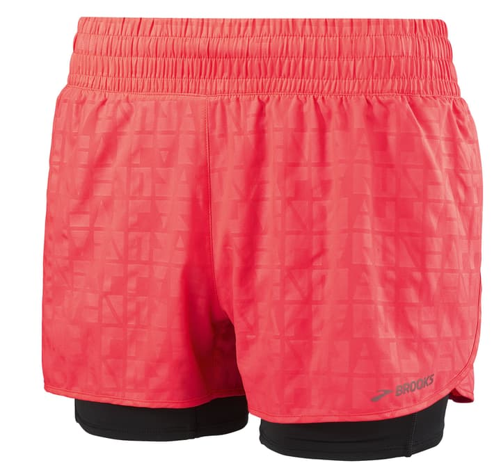 CIRCUIT 3 2 in SHORTS Damen-Shorts Brooks 470153700429 Farbe pink Grösse M Bild-Nr. 1
