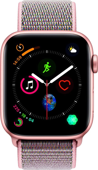 Watch Serie 4 44mm GPS+Cellular Gold Aluminum Pink Sand Sport Loop Smartwatch Apple 798455100000 Photo no. 1