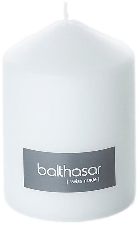 Candela cilindro Balthasar 656205100001 Colore Bianco Taglio ø: 8.0 cm x A: 11.5 cm N. figura 1