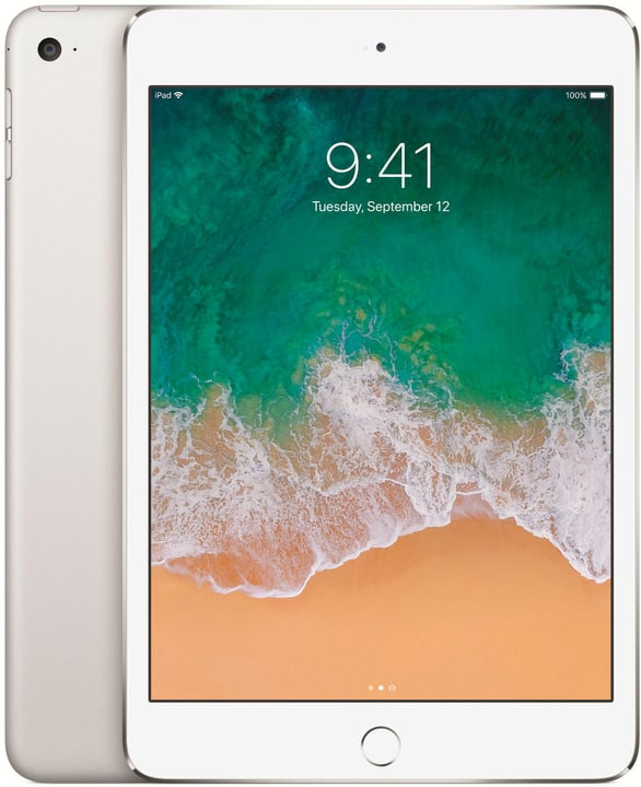 iPad mini 4 WiFi 128GB silver Apple 797876600000 N. figura 1