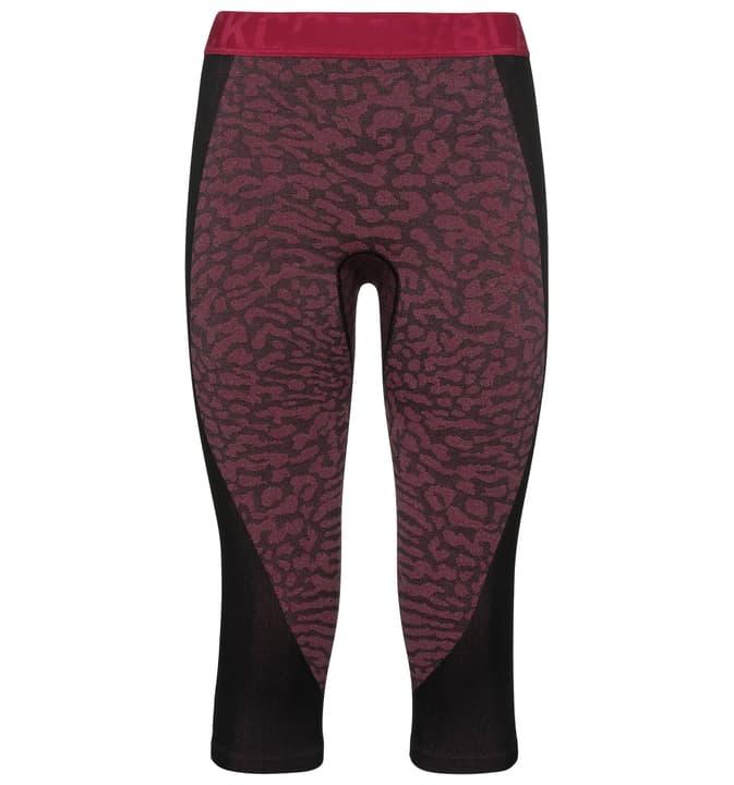 Performance Blackcomb Pantaloni 3/4 donne Odlo 477088800517 Colore lampone Taglie L N. figura 1