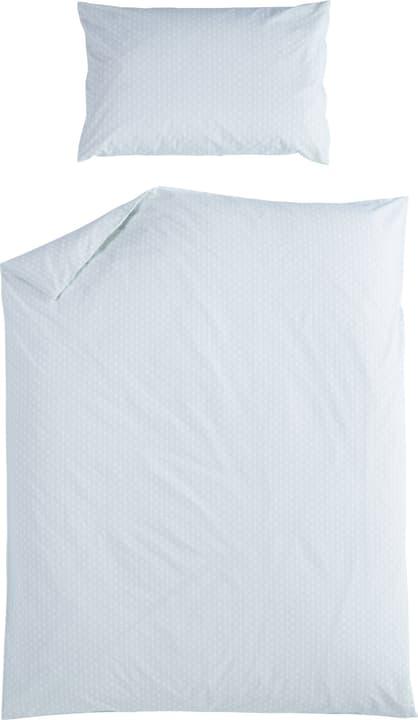 JULIO Federa per cuscino in percalle 451281610660 Colore Verde chiaro Dimensioni L: 65.0 cm x A: 65.0 cm N. figura 1