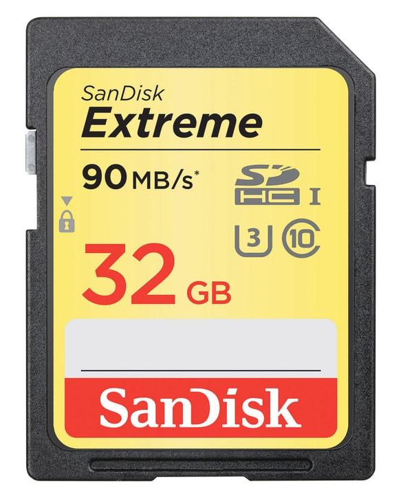 Extreme 90MB/s 32GB SDHC-Carte mémoire SanDisk 797962200000 Photo no. 1