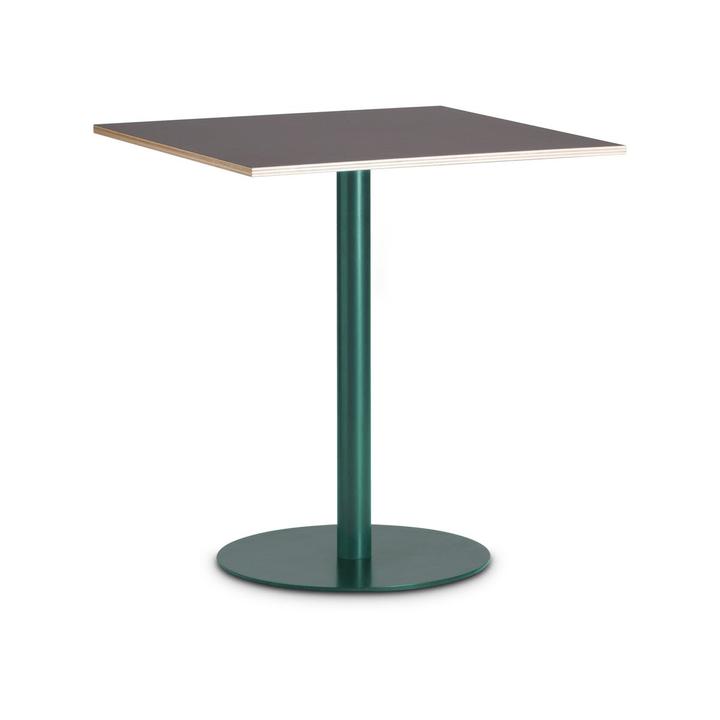 MILTON Tavolino da bistrò 366193300000 Dimensioni L: 70.0 cm x P: 70.0 cm x A: 73.6 cm Colore Nero N. figura 1