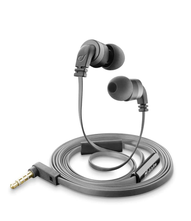 Stereo Headset schwarz Kopfhörer Cellular Line 621464900000 Bild Nr. 1