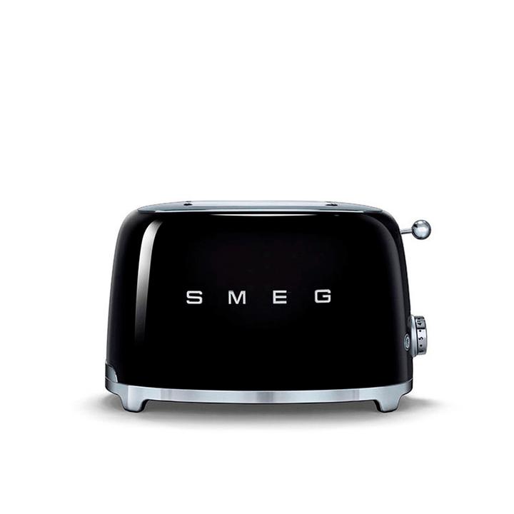 50's SMEG Grille-pain noir Smeg 393171900000 Dimensions L: 31.0 cm x P: 20.0 cm x H: 20.0 cm Couleur Noir Photo no. 1