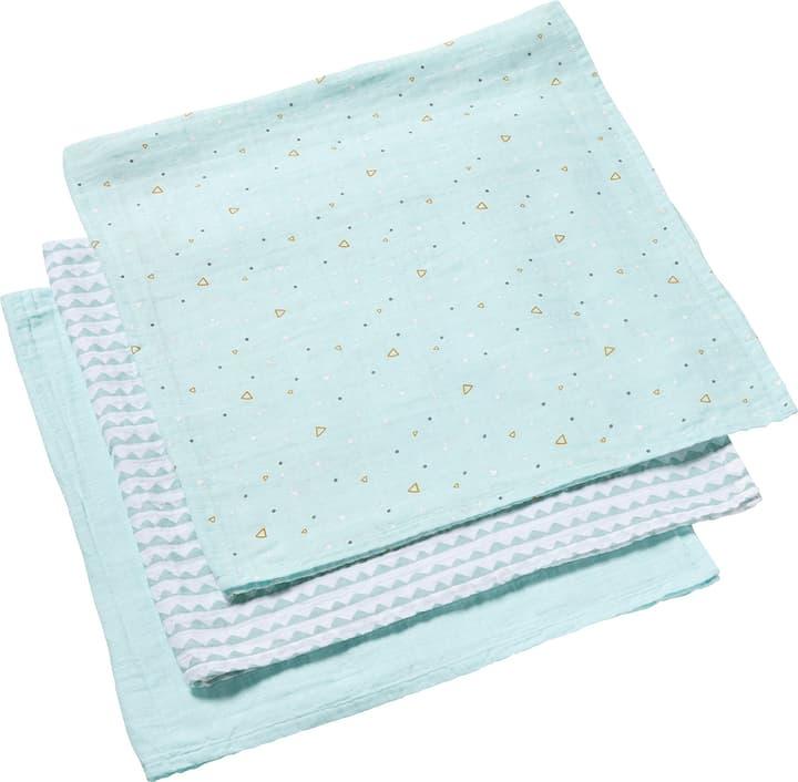 KIM Serviette bébé 90 x 90 451298709066 Dimensions L: 90.0 cm x P: 90.0 cm Couleur turquoise Photo no. 1