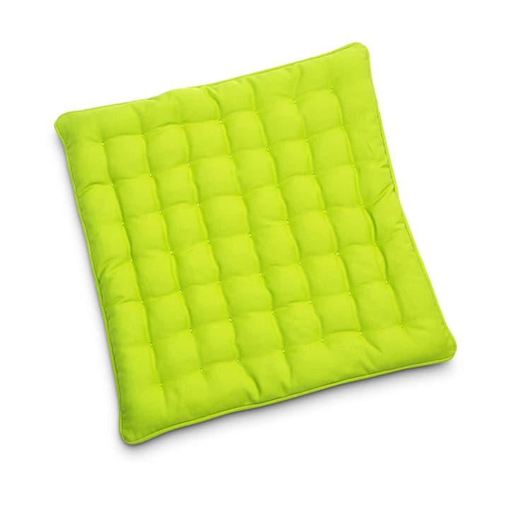 MIAMI Sitzkissen 40x40 378071700000 Grösse B: 40.0 cm x T: 40.0 cm x H: 3.0 cm Farbe Grasgrün Bild Nr. 1