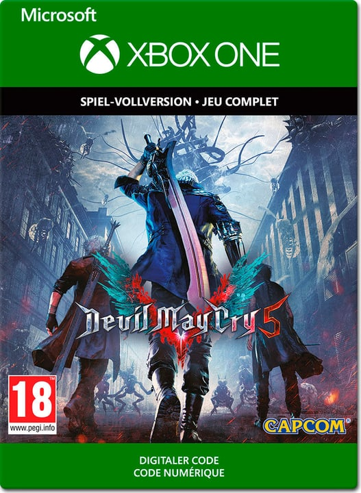 Xbox One - Devil May Cry 5 Download (ESD) 785300142720 N. figura 1
