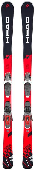 V-Shape V6 SW inkl. PR 11 GW Skis All Mountain avec fixations Head 464302015630 Longueur 156 Couleur rouge Photo no. 1