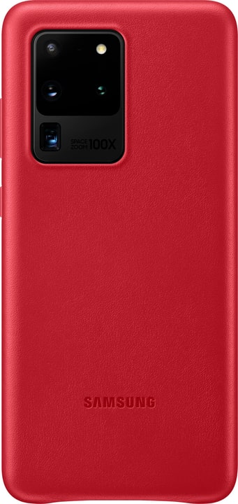 Leather Cover red Coque Samsung 785300151151 Photo no. 1