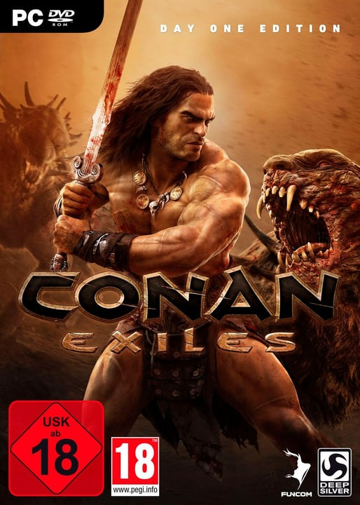 PC - Conan Exiles Day One Edition (F) Physisch (Box) 785300132648 Bild Nr. 1