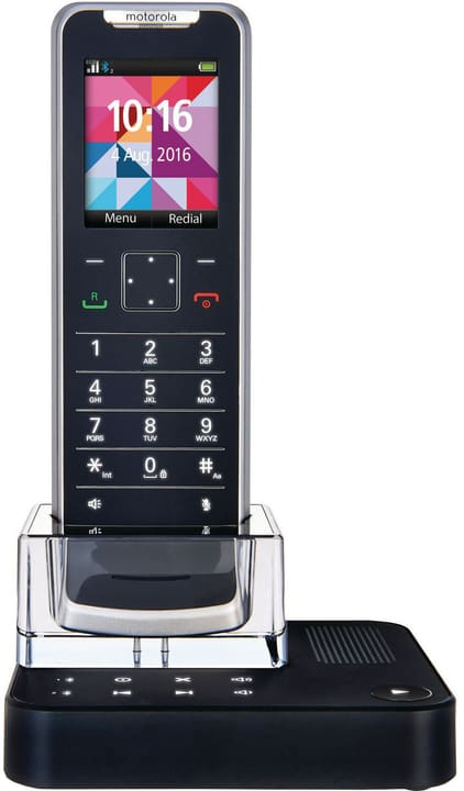 IT.6.1T noir bleu orange Téléphone fixe Motorola 785300138446 Photo no. 1