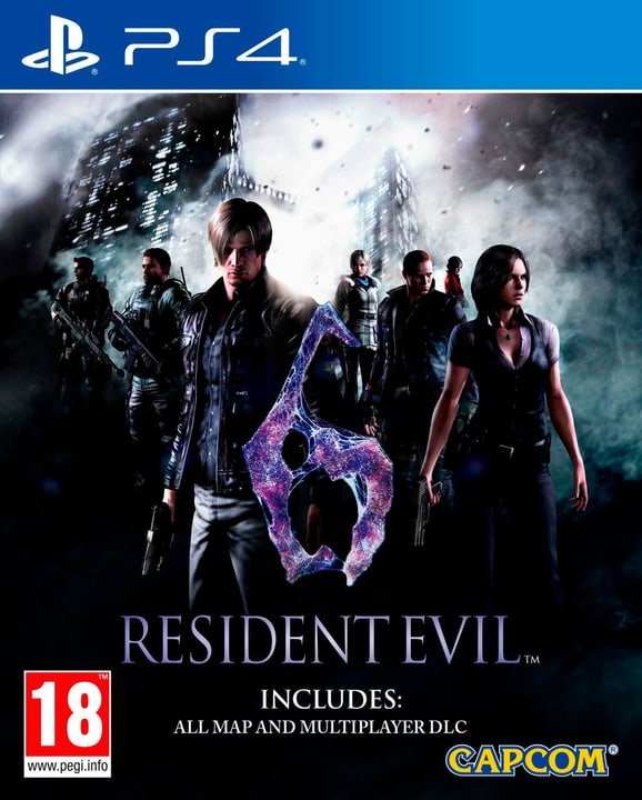 PS4 - Resident Evil 6 HD 785300121899