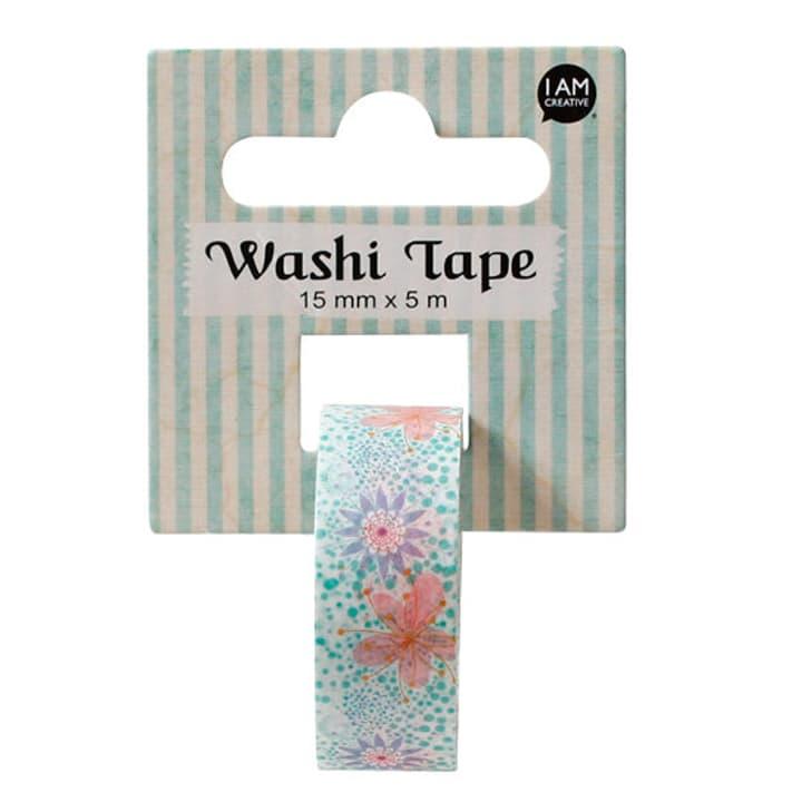 Washi Tape Fleurs II I AM CREATIVE 666124500000 N. figura 1