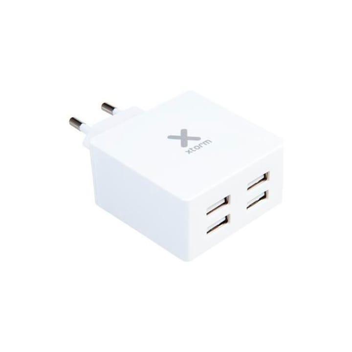 AC Adapter 4 USB ports max. 4.8A Xtorm 785300141649 Bild Nr. 1