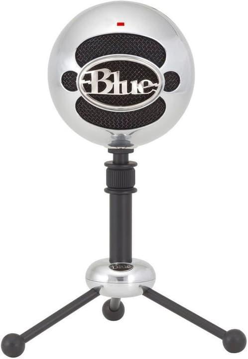 Snowball Microphone USB brushed Aluminium Mikrofon Blue 785300139724 Bild Nr. 1