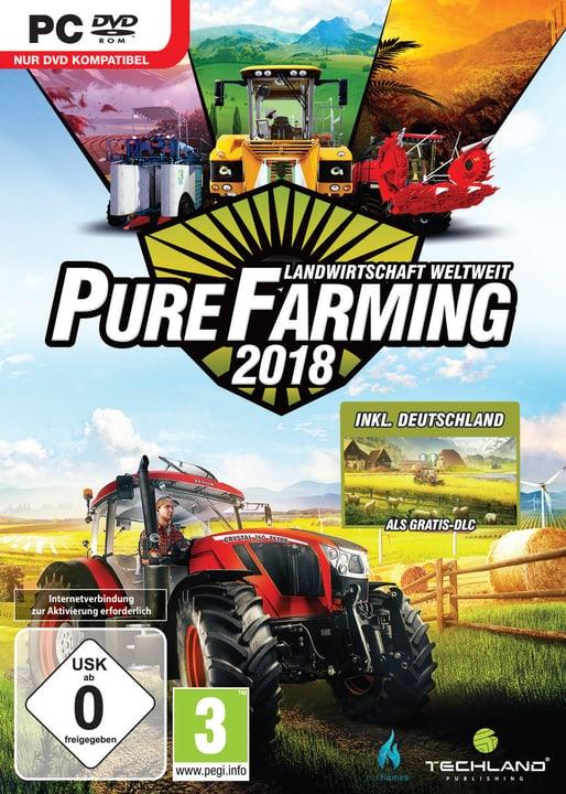 PC - Pure Farming 2018 Day One Edition (D) Box 785300131684 Bild Nr. 1