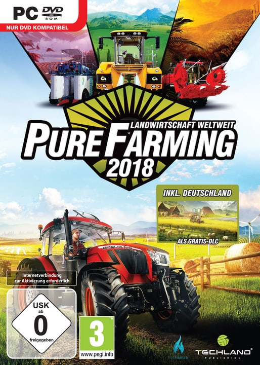 PC - Pure Farming 2018 Day One Edition (D) Fisico (Box) 785300131684 N. figura 1
