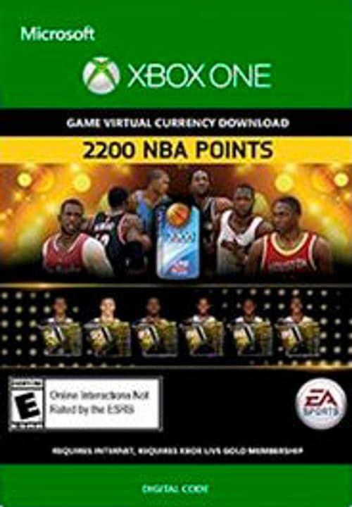 Xbox One -NBA Live 15: 2,200 NBA Points Numérique (ESD) 785300135778 Photo no. 1