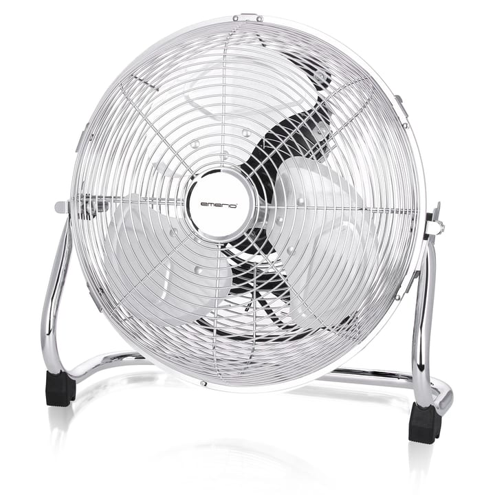 Ventilateur au sol retro en chrome 30' Emerio 614249100000 Photo no. 1