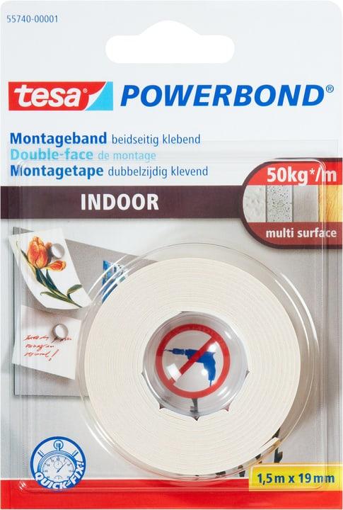 Montageband Indoor Tesa 663060400000 Farbe Gelb Grösse L: 1.5 m x B: 19.0 mm Bild Nr. 1