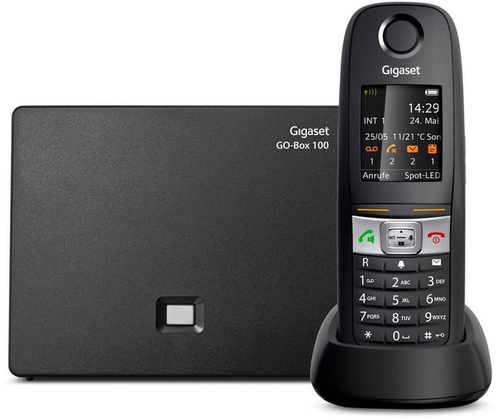 E630A GO noir Téléphone VoIP Gigaset 785300123494 Photo no. 1