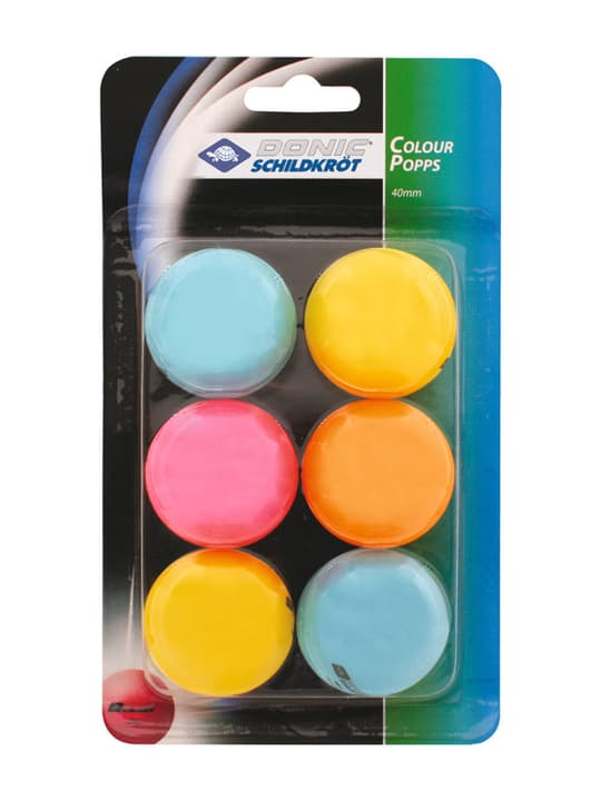 Colour Popps Raquettes de tennis de table 491637000000 Photo no. 1