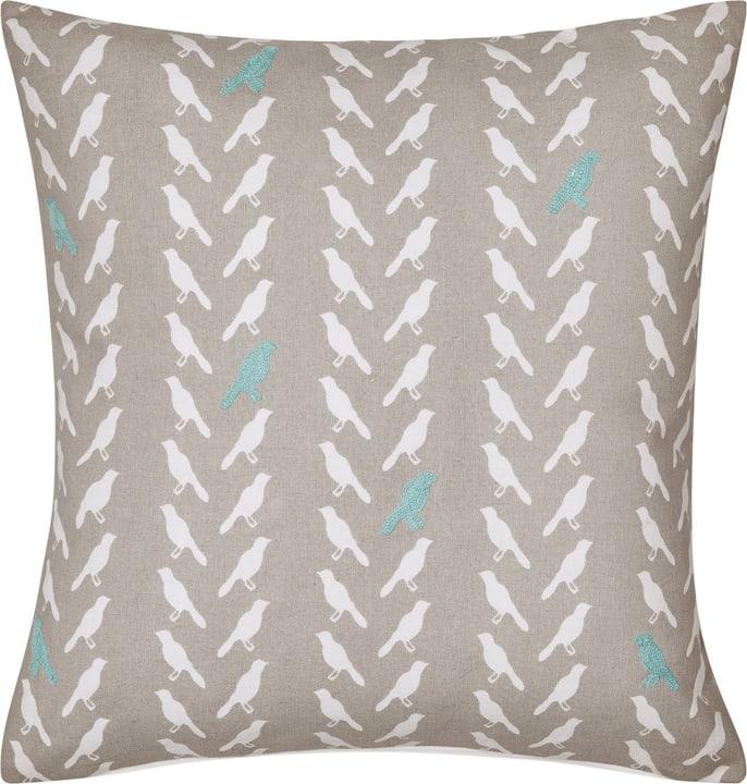 LARISSA Fodera per cuscino decorativo 450725940141 Colore Azzurro Dimensioni L: 45.0 cm x A: 45.0 cm N. figura 1