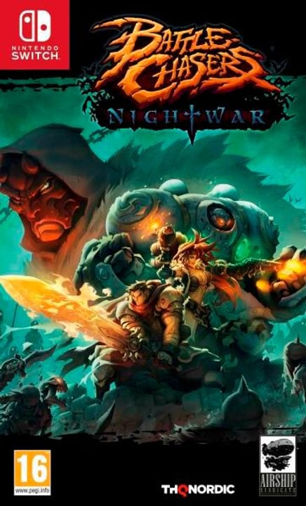 Switch - Battle Chasers: Nightwar (F/I) Box 785300128981 N. figura 1