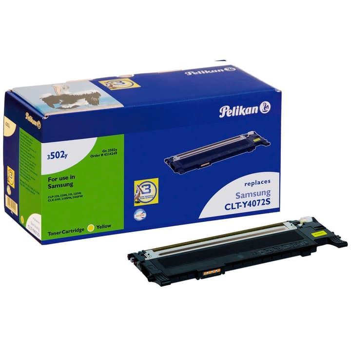 3502y CLT-Y4072S/ELS cartuccia d'inchiostro giallo Pelikan 785300123306 N. figura 1