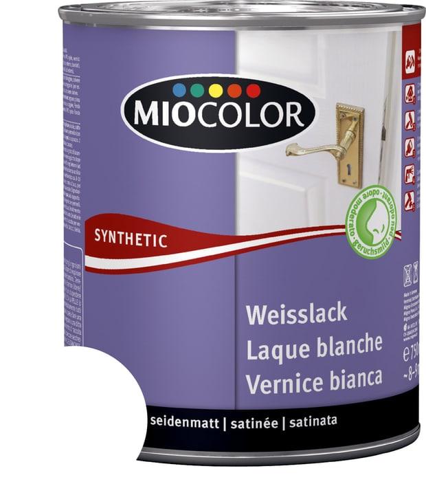 Vernice sintetica bianca satinata opaca Bianco 375 ml Miocolor 661446100000 Contenuto 375.0 ml Colore Bianco N. figura 1
