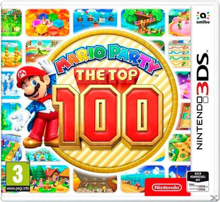 Mario Party: The Top 100 [3DS] (D) Physisch (Box) 785300131220 Bild Nr. 1