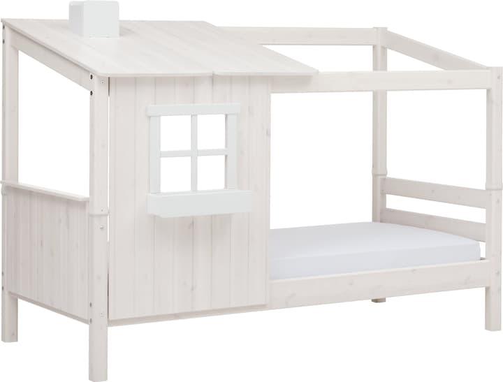 TREE HOUSE Demi-maison avec un lit simple Flexa 404985500000 Couleur White Wash Dimensions L: 112.0 cm x P: 210.0 cm x H: 154.0 cm Photo no. 1