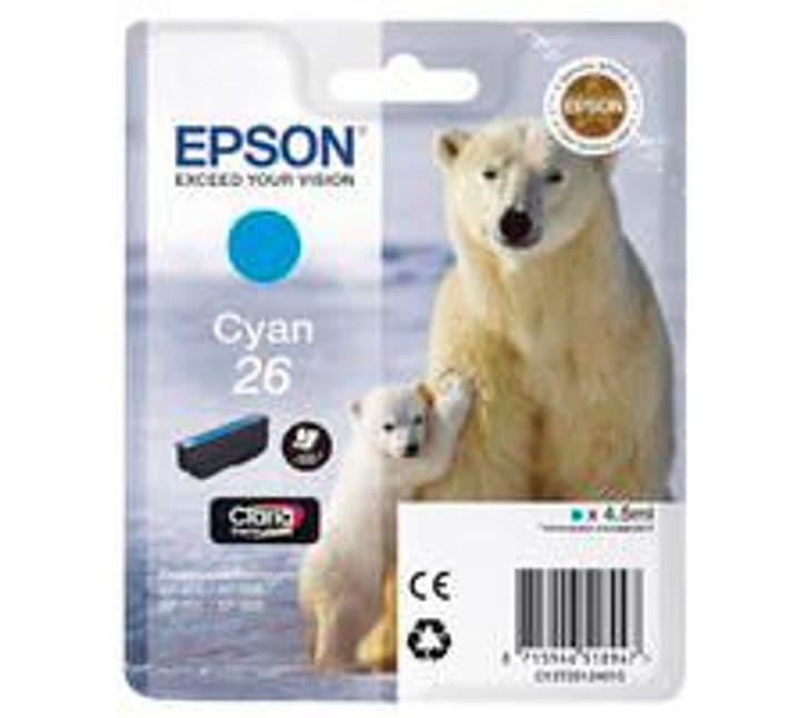 T261240 Tintenpatrone cyan Epson 796081600000 Bild Nr. 1