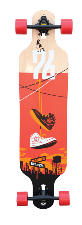 Trance DT Set Shoes Longboard Madrid 492376000000 N. figura 1