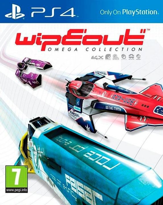 PS4 - WipEout Omega Collection Box 785300122369 Photo no. 1