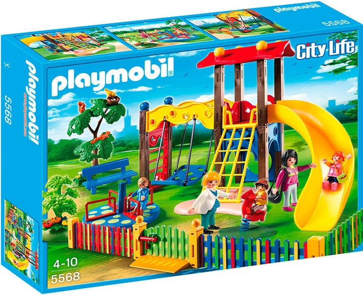 PLAYMOBIL City Life Kinderspielplatz 5568 746038400000